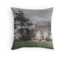 Newbridge House, Sea Mills Lane, Bristol. Throw Pillow