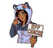 EFF CANCER! v.2 Photographic Print