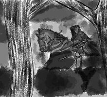 The Dark Horseman by Artegan