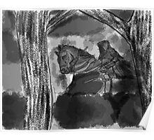 The Dark Horseman Poster
