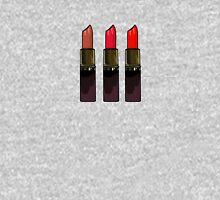 Girly Red Lipstick Trio Mens V-Neck T-Shirt