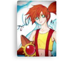 Misty Pokemon Canvas Print