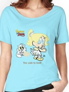 Precious - Too cute to toot! Women's Relaxed Fit T-Shirt