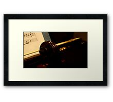 The Language of Love... Expressed, not Spoken... Framed Print