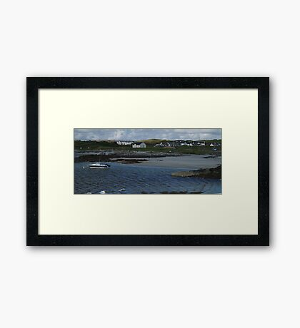 Windy Day at Rossbeg Framed Print
