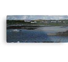 Windy Day at Rossbeg Metal Print