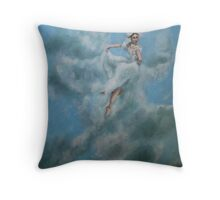 Study for The Damsel Throw Pillow