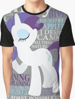 The Many Words of Rarity Graphic T-Shirt