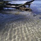 rippling clear water at Coningham by gaylene
