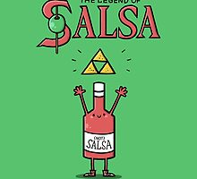 The Legend of Salsa by Schlogger