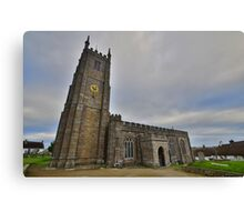 Dartmoor: St Andrew's Church, South Tawton Canvas Print