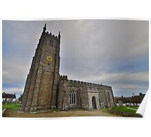 Dartmoor: St Andrew's Church, South Tawton Poster