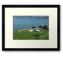Devonport Guns Framed Print