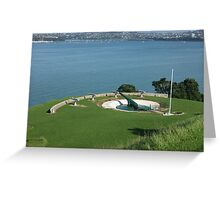 Devonport Guns Greeting Card