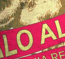 Palo Alto California vintage bear Sticker