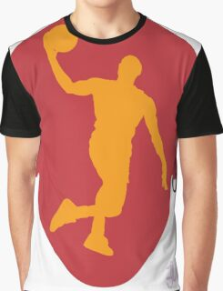 Basketball Icon Dunk MIA Graphic T-Shirt