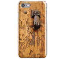 Hand doorknocker iPhone case iPhone Case/Skin