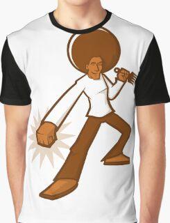 Afro Ninja Graphic T-Shirt