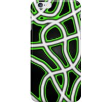 Glowing lines iPhone Case/Skin