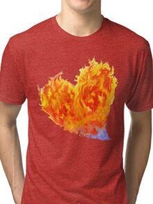 Heart Burn...BIG Tri-blend T-Shirt