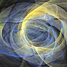 Delightful mood of abstracted mind by Fractal artist Sipo Liimatainen