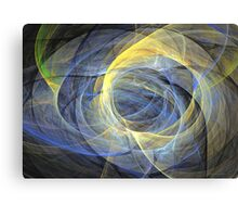 Delightful mood of abstracted mind Canvas Print