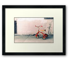 Was it that long ago? Framed Print