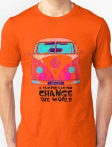 A VW Camper Van Can Change The World Unisex T-Shirt