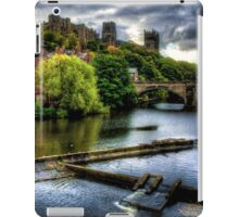 River Wear At Durham iPad Case/Skin