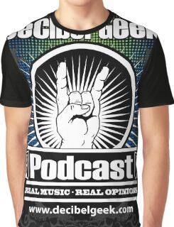 Decibel Geek  - Horns Up! Graphic T-Shirt