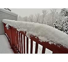 First snow of the season comes to the New England Photographic Print