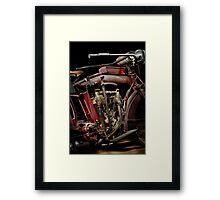 1915 Indian Hedstrom Engine Framed Print