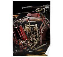 1915 Indian Hedstrom Engine Poster
