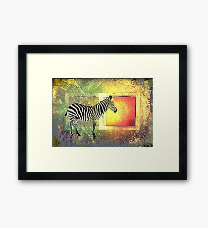 Freedom Waiting Out There Framed Print