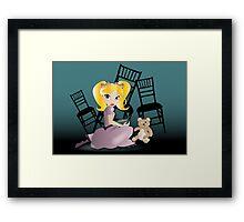 Twisted Tales - Goldilocks Framed Print