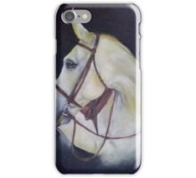 beautiful white horse  iPhone Case/Skin