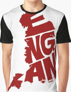 England Red Graphic T-Shirt