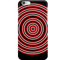 Glowing Bullseye iPhone Case/Skin