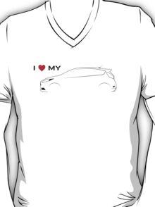 I love my Fiesta ST (Light background) T-Shirt