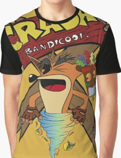 Old Timey Crash Bandicoot Graphic T-Shirt