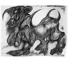 Minotaur Poster