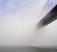 Vanishing Golden Gate Bridge by Svetlana Day
