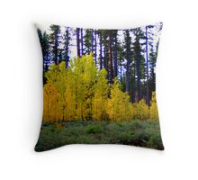 """Sierra Forest"" Throw Pillow"