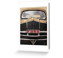 V8 FORD TRUCK Greeting Card