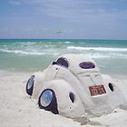 VW sand sculpture by bulldawgdude