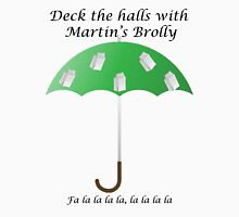 Deck the Halls with Martin's Brolly T-Shirt