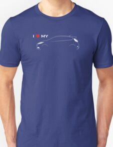 I love my Ford Fiesta ST (dark background) T-Shirt