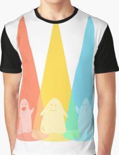 DANCING GHOSTS Graphic T-Shirt