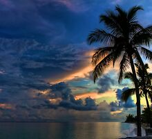 Sunset in the Bahamas by Svetlana Day