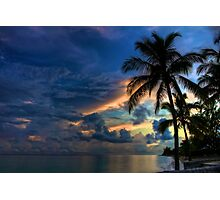 Sunset in the Bahamas Photographic Print